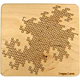 Martin Raynsford Wooden Fractal Tray Puzzle - Dragon Curve