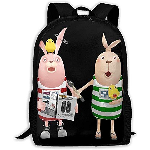 Unisex-Rucksack für Erwachsene mit hoher Kapazität Usavich Bookbag Travel Bag Schoolbags Laptop Bag
