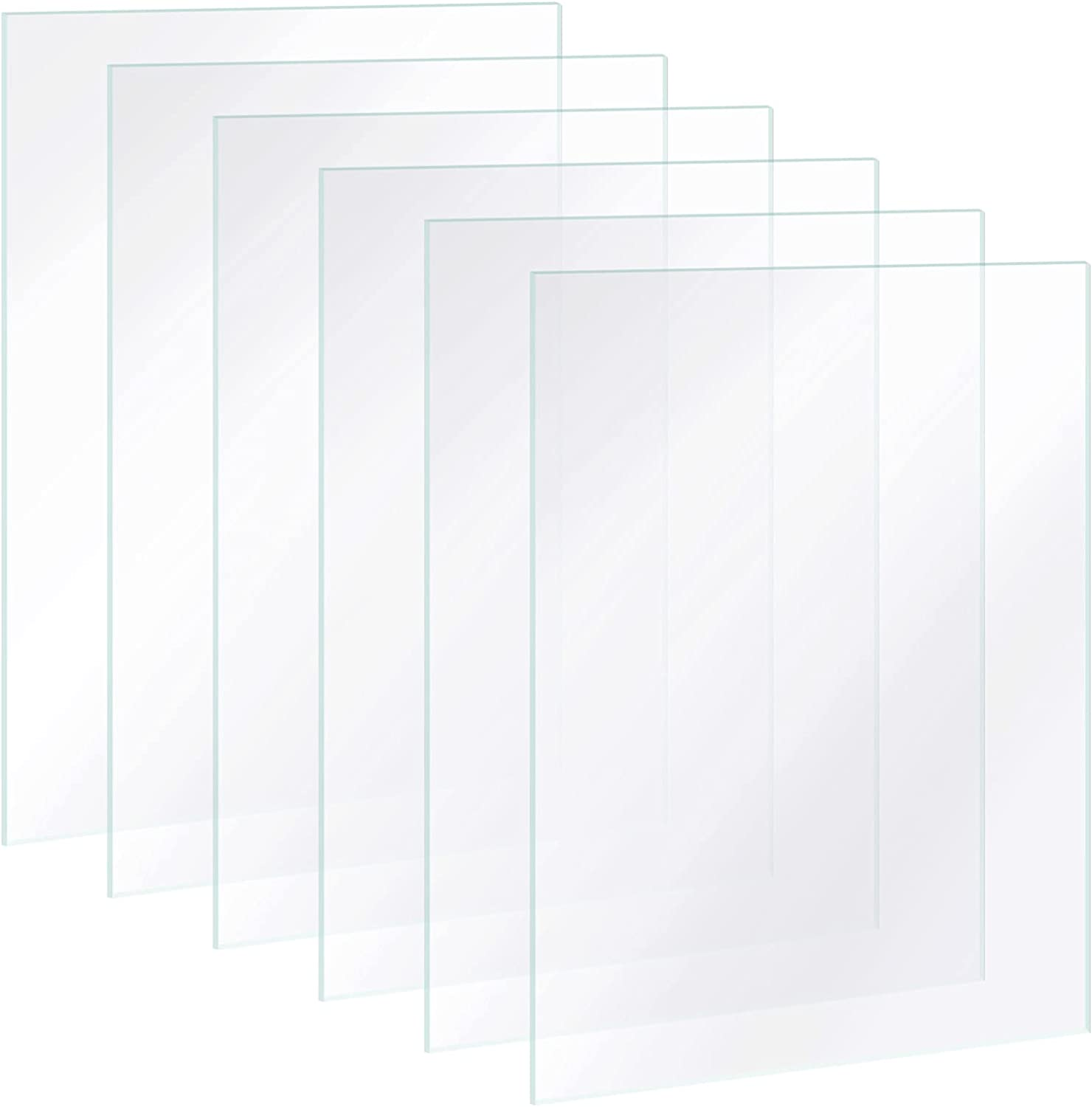 6 Pieces In stock Picture Frame D for Replacement Limited time trial price Glass