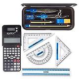 KAPEK Mathematik-Set und wissenschaftlicher Taschenrechner Dieses patentierte Schulrechner und...