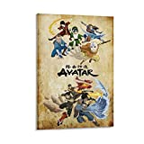 Avatar The Last Airbender And Legend of Korra Poster,