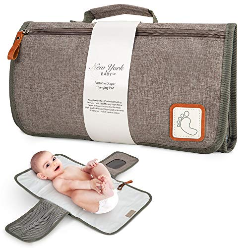 Portable Diaper Changing Pad - Baby Changing Mat - Travel Diaper Change Station - Portable Changing Pad for Baby Diaper Bag Changing Table Pad - Baby...