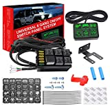 6 Gang Switch Panel Kit, Auto Power Plus Circuit...