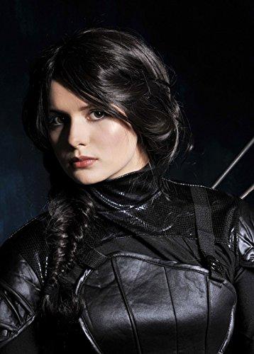 Womens Hunger Games Stil Katniss Perücke