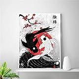 danyangshop Druck Auf Leinwand Rahmenloses Gemälde Japan