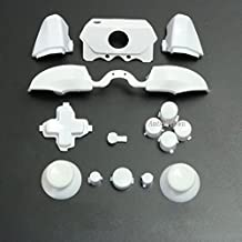Bumpers Triggers Buttons DPad LB RB LT RT for Xbox One Elite Controller White 3.5mm