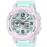 Baby-G Shock By Casio Women's BGA230PC-6B Analog-Digital Watch Green Lavender