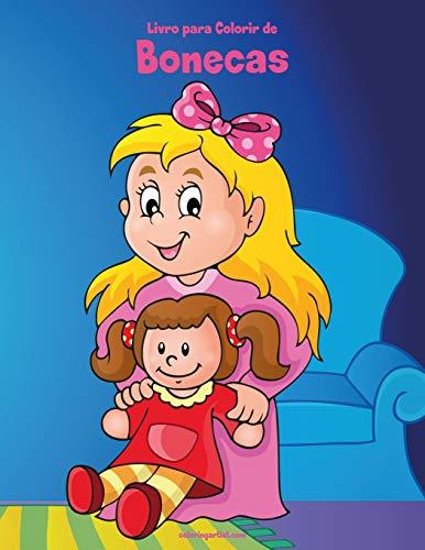 Livro para Colorir de Bonecas: 1