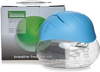 Leaf Shape Electrical Water Air Refresher Air Purifier Air Revitalizer Air Humidifier, Blue
