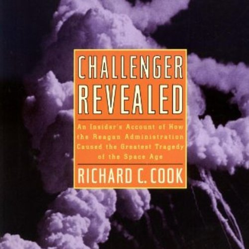 Challenger Revealed audiobook cover art
