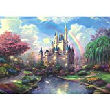 Qlldwxu 520 Pices Jigsaw Puzzles, Colorful Adult Children Educational Toys Cartoon Puzzles, Educational Wooden Puzzle Sets, Home Decoration