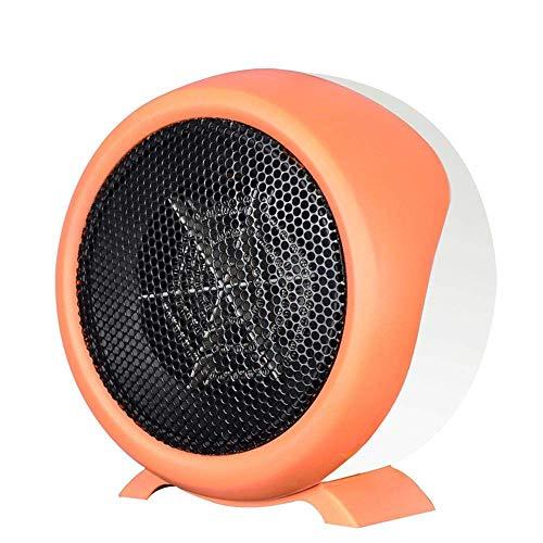 SXHYL Mini-Heizung Haushalt Grillen Herd kleine Heizung kleine Solar-Heizung Warmventilator elektrischen Heizung Heißluftheizung Heißluftheizung Heißluftheizung Heizkörper,Orange