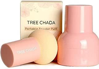 Beauty Sponge Travel Case -Makeup Sponge,Premium Beauty Sponge Makeup Blender for Powder, Foundation Blending Blush Concealer Eye Face Powder Cream Beauty Sponge (pink)