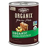 #1 Ingredient Is Organic, Free-Range Chicken Made With A Nutrient-Packed Superfood Blend Featuring Organic Flaxseed, Organic Blueberries And Organic Coconut Flour Grain Free Nutrition No Chemical Pesticides, Synthetic Fertilizers, Artificial Preserva...