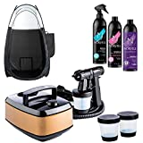 Aura Allure Spray Tanning Machine with Norvell Airbrush Tanning solution