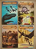 Dinosaur Cove: Set of 4 Chapter Books (#4 Flight of the Quetzalcoatlus ~ #6 Stampede of the Edmontosaurus ~ #7 Saving the Stegosaurus ~ #8 Swimming with the Plesiosaur)