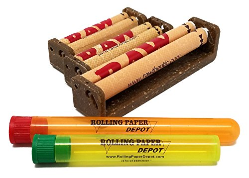 Bundle - 5 Items - RAW Cigarette Rollers 3...