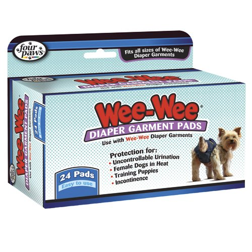 Wee-Wee Dog Diaper Garment Pads