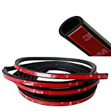 """E Support 157"""" Small D 4Meter 3M Door Rubber Seal Weather Strip Hollow"""