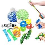 OKSANO Juguetes Sensoriales antiestres 12Pcs, Juguetes Autismo Fidget para niños y Adultos Fiddle...