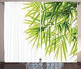 ABAKUHAUS Bambú Cortinas, Paz de la Hoja de bambú,...