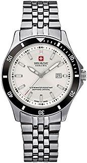 Swiss Military Hanowa - Reloj Analógico para Mujer de Cuarzo con Correa en Acero Inoxidable 06-7161.2.04.001.07