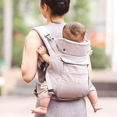 GAGAKU – Ergonomische Baumwoll Babytrage - 4