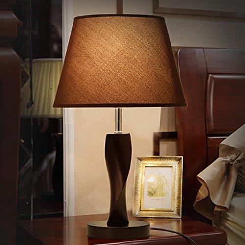 Bonne chose lampe de table Lampe de table de chevet Moderne Simple créatif Chambre à coucher Mode chinoise Lampes de salon Lampe de chevet