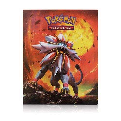 EKKONG Álbum Titular de Tarjetas Pokémon, GX y EX Cartas Pokemon Álbum, Carpeta Cartas Pokemon, Album Pokemon Carpeta Libro 30 páginas 240 Tarjetas Capacidad (Sun&Moon)
