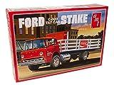 AMT Ford C600 Estaca con máquina de Coca-Cola 1/25 kit de modelo a escala