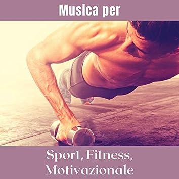 Musica per sport, fitness, motivazionale – La playlist che aiuta a fare sport