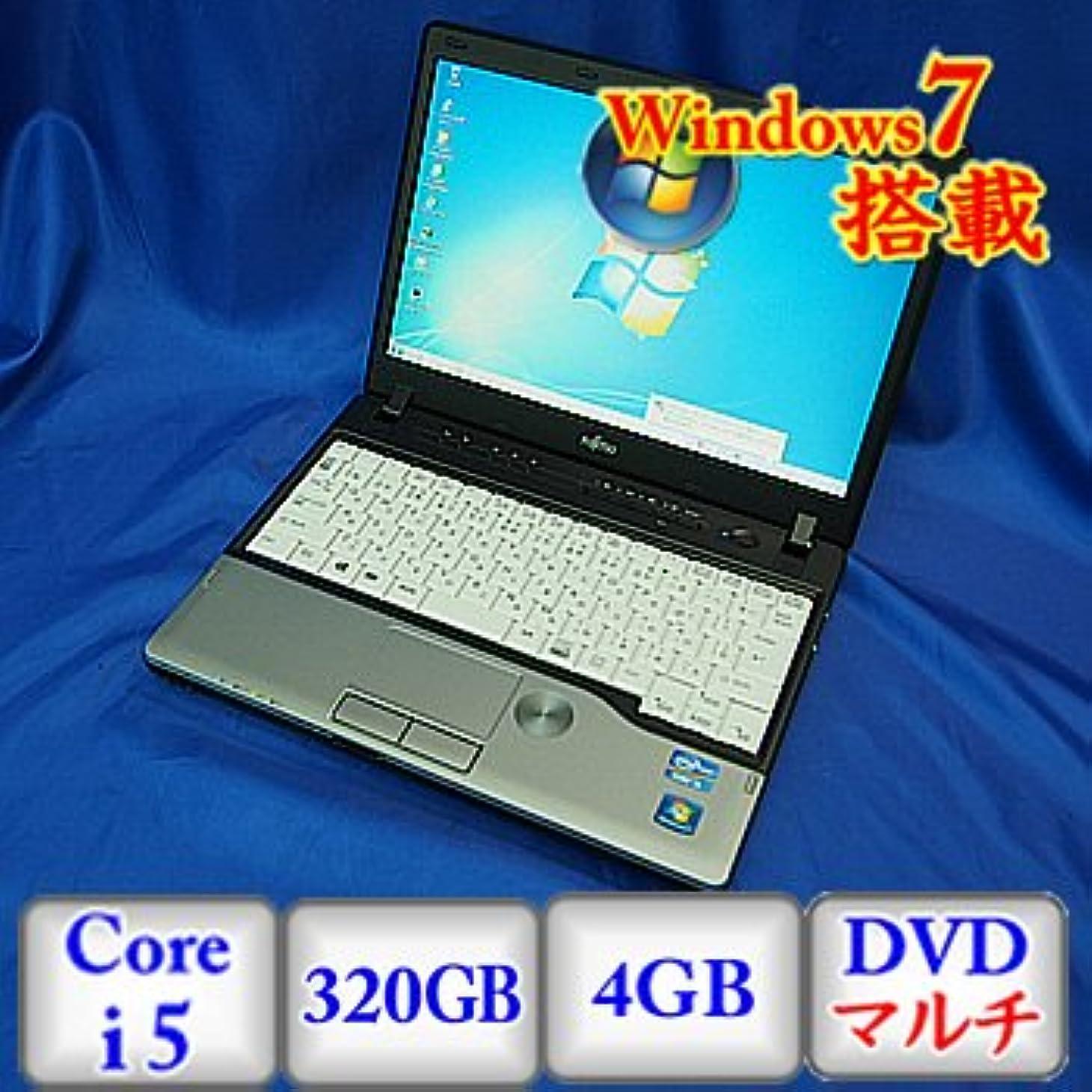 交換ママソブリケット【中古ノートパソコン】富士通 LIFEBOOK P772/F [FMVNP7HE] -Windows7 Professional 32bit Core i5 2.6GHz 4GB 320GB DVDハイパーマルチ 12.1インチ(B0113N011)