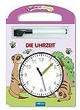 Trötsch Die Uhrzeit Schreib und Wisch Weg mit Stift: Übungsheft Lernheft Vorschule Grundschule (Schreib und Wisch Weg Lernhefte) - Trötsch Verlag GmbH & Co. KG
