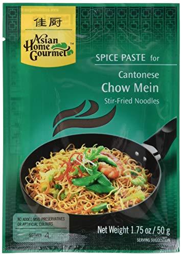 Asian Home Gourmet Würzpaste chinesisch Chow Mein, 6er Pack (6 x 50 g)