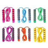 Best Kids Jump Ropes - YouCute Jump Rope for Kids 6 Pack Adjustable Review