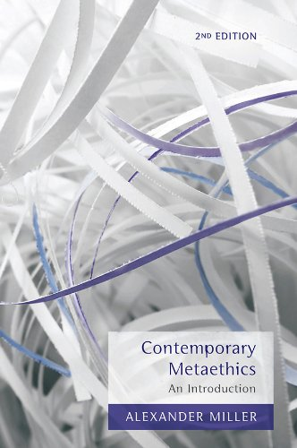 Contemporary Metaethics An Introduction