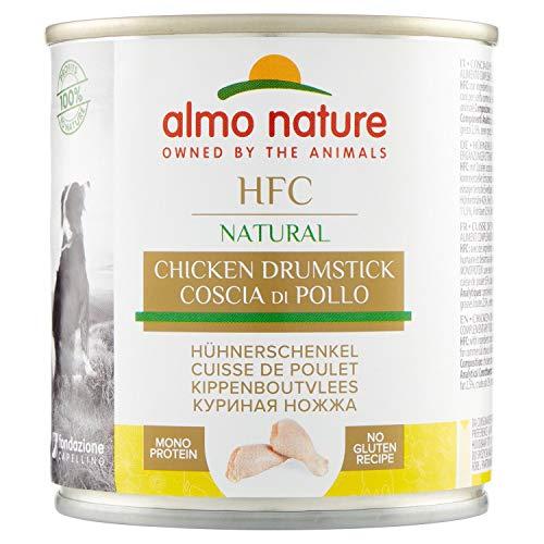 almo nature HFC Natural - Coscia di Pollo - Umido Cane 100% Naturale - 12x280 g lattina