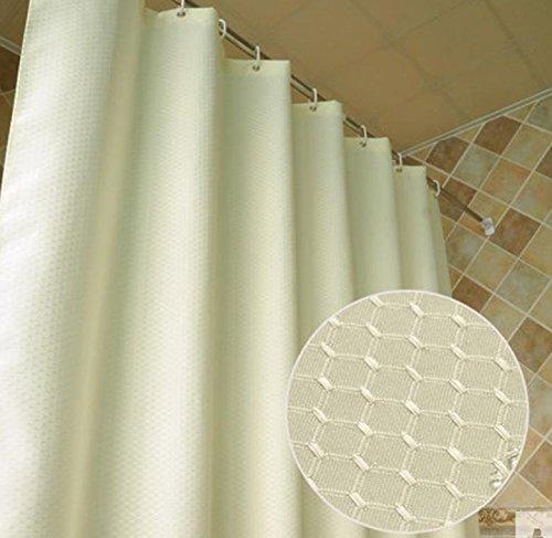 Elegance Luxe Badkamer Douchegordijn Waterdicht en Mildewproof Polyester Stof