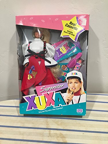 "Latin American Superstar Xuxa Very Rare 1993 11"" Doll New in Box"
