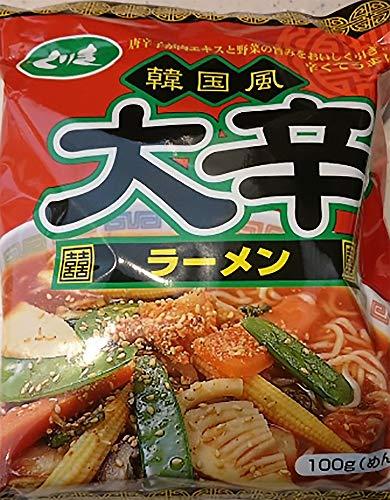 韓国風 大辛ラーメン 1袋 インスタントラーメン 袋麺 マツコの知らない世界