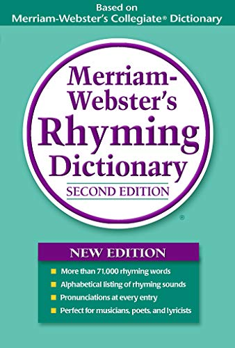 Merriam-Webster's Rhyming Dictionary, Second Edition, Trade Paperback