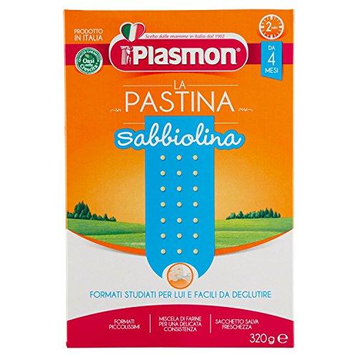 Plasmon - Oasi nella crescita, Sabbiolina, dal 4 mese - 340 g