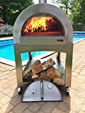 ilFornino Professional Series Wood Fired Pizza Oven - Thicker Gauge Stainless Steel-...