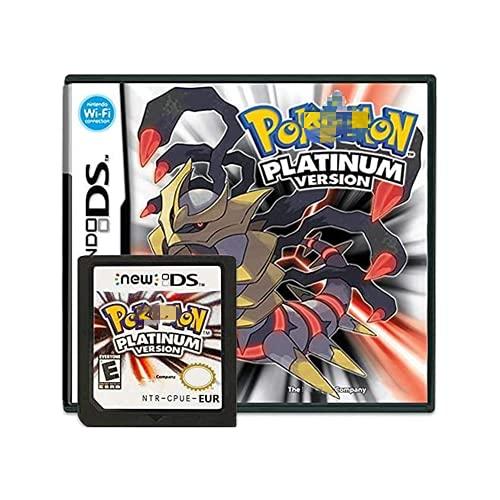 Platinum Version Game Cartridge Card compatible con Poke Nintendo DS/NDS/NDSL/NDSi/3DS/2DS versión