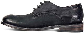 WMZQW Zapatos Comodos Oxford de Cordones para Hombre Cuero Casual Zapatos de Boda Oficina 38-50