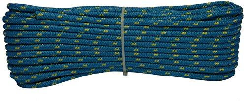 Corderie Italiane 006006671 Corda Colorata Surf, Azzurra, 6 mm, 30 m