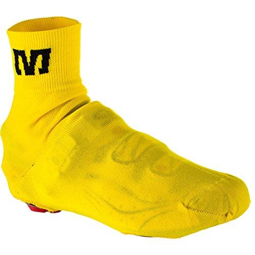 Mavic Knit Shoe Cover - jaune Vêtements Vélo Homme jaune Taille M