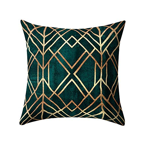 ZOUMOOL_ Pillow Cases Fundas de cojín Decorativas de Cachemira de Piel de melocotón para sofá, Cama, 18 x 18 Pulgadas