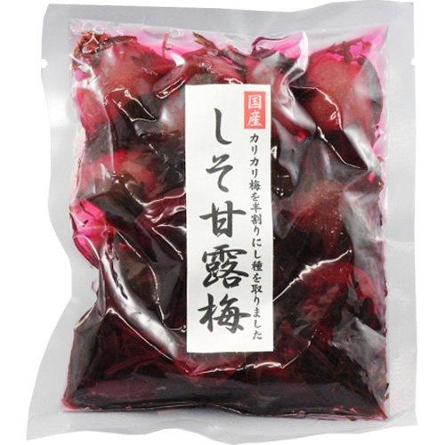 神尾食品工業 国産 しそ甘露梅 120g