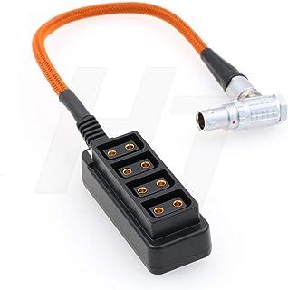 HangTon ARRI Alexa Mini cámara EXT 7 pines a D-tap adaptador caja de 1 a 4 cables trenzados